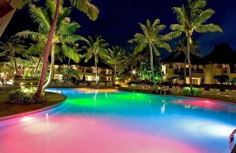 Illuminazione led piscina