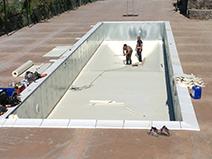 costruzione piscina